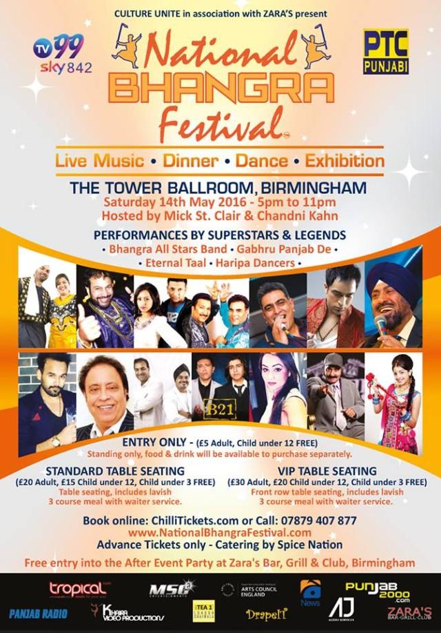 National  Bhangra Festival 2016