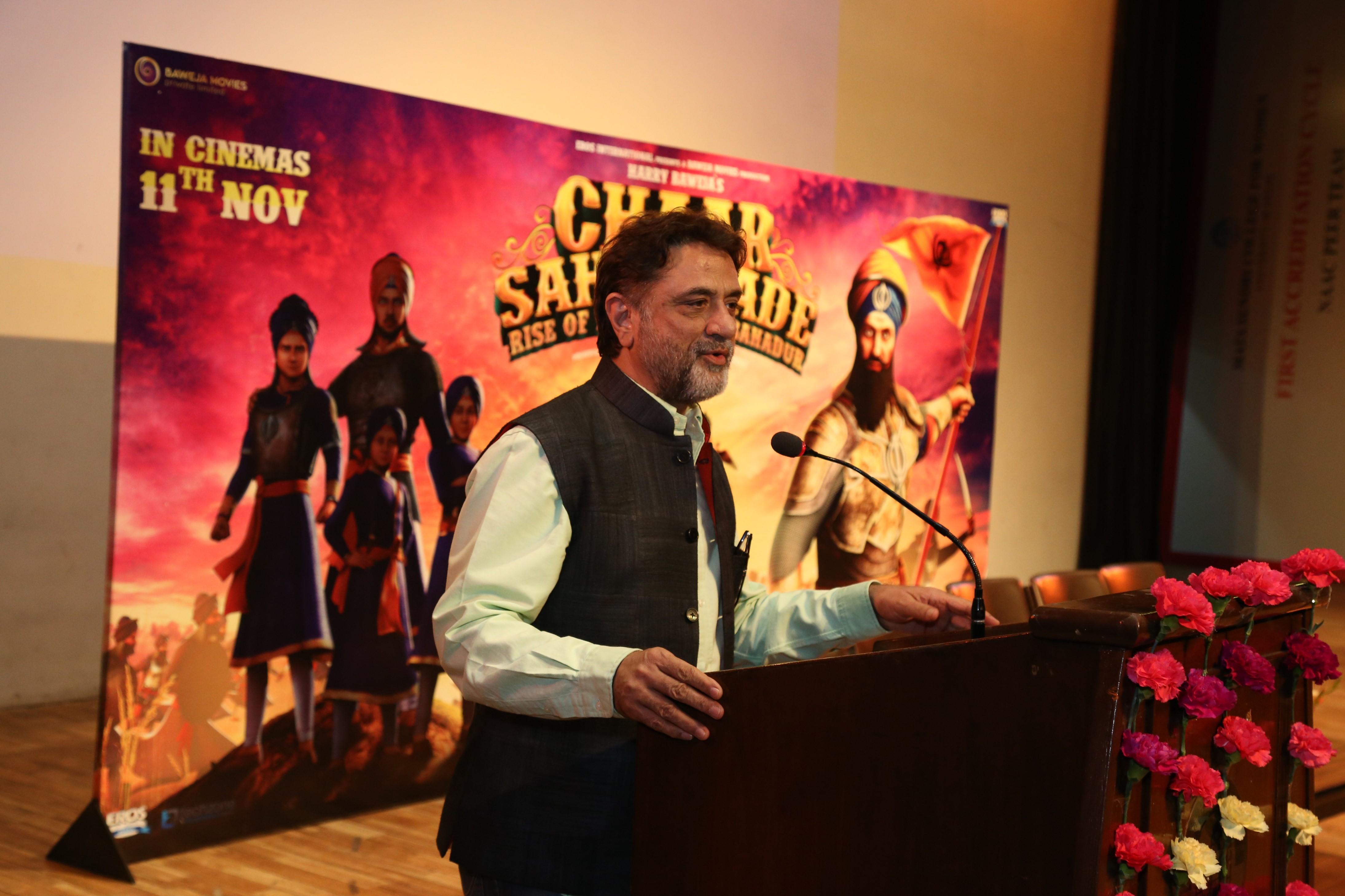Harry Baweja Chaar Sahibzaade 2 - Rise of Banda Singh Bahadur