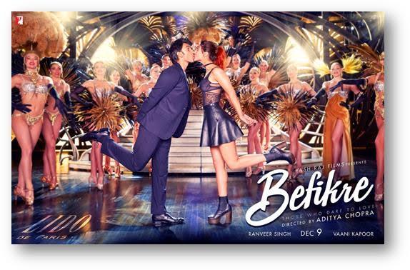 Third Poster of Befikre