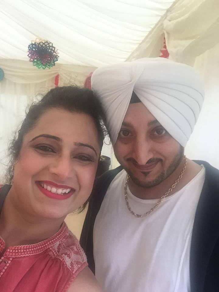 Navi Kaur with Inderjit Nikku