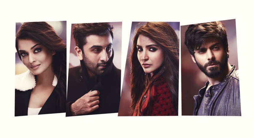 Aishwarya, Ranbir, Anushka & Fawad