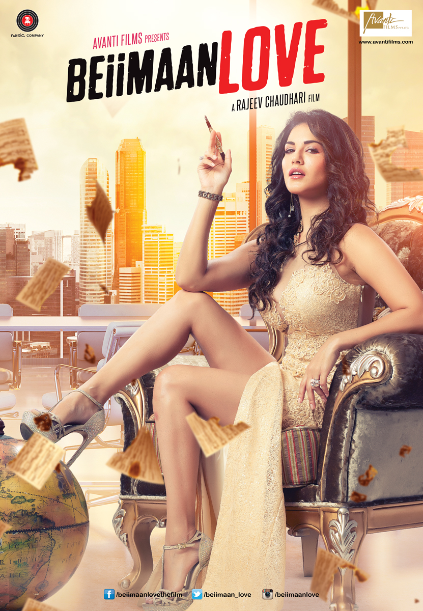 Sunny Leone's 'Beiimaan Love' Releasing In UK on 21st October 2016