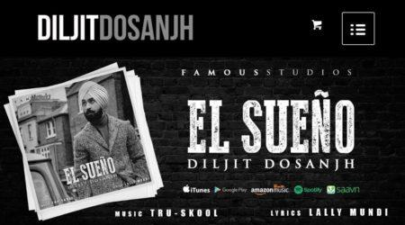 Diljit Dosanjh Official Merchandise Website