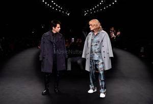 Derek Zoolander And Hansel Walk The Runway At The Valentino Fashion Show During Paris Fashion Week (3)
