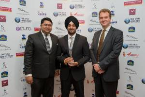 Pratik Majumdar, Amrit Singh Uppal, Mr David Lelliot OBE
