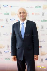 Secretary of State for Culture, Media & Sport and Equalities Minister Rt Hon Sajid Javid MPsiness Awards, Midlands