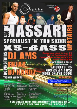 Massari @ Bespoke Derby