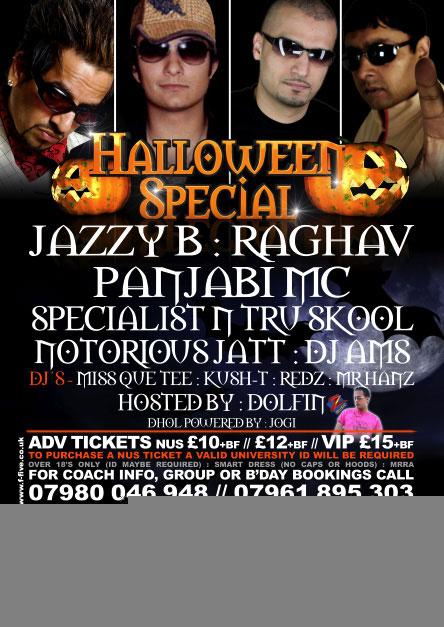 DanceAsia - Halloween Special @ ISIS - Notts