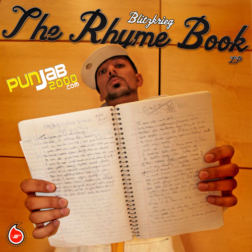 The Rhyme Book - Blitzkrieg (Click Image To Buy The CD)