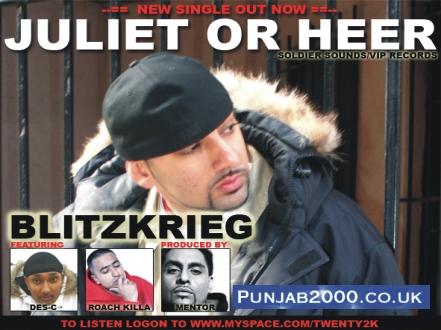 Juliet or Heer - Blitzkrieg