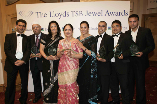 ASIAN SUCCESS STORIES SHORTLISTED FOR LLOYDS TSB SOUTHERN JEWEL AWARDS