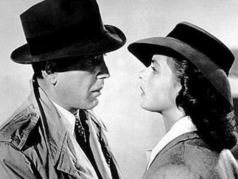 Humphrey Bogart And Ingrid Bergman