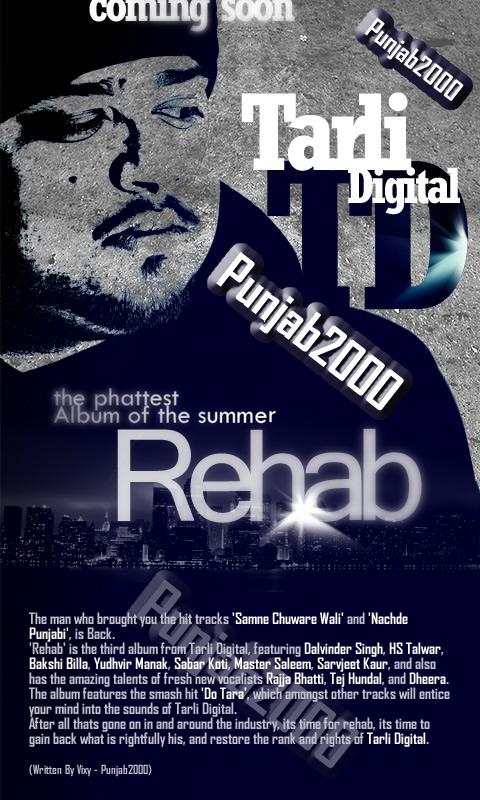 TARLI DIGITAL  'Project:Rehab'
