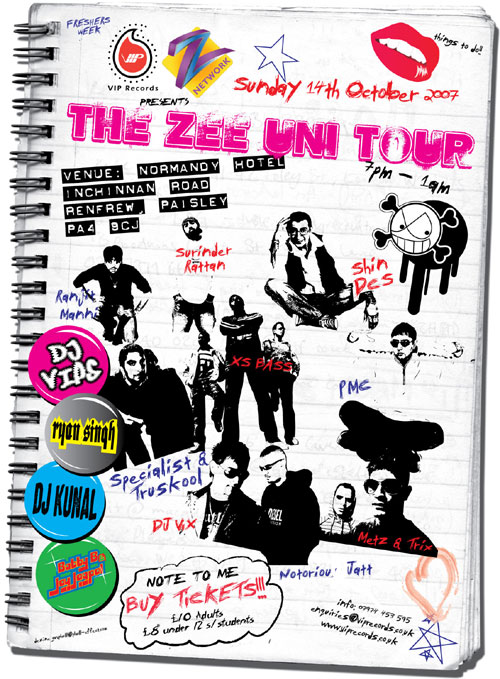 The Zee Uni Tour in Association With VIP Records