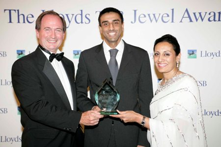 Truett Tate, Executive Director for Wholesale and International Banking, Winner, Kamel Hothi