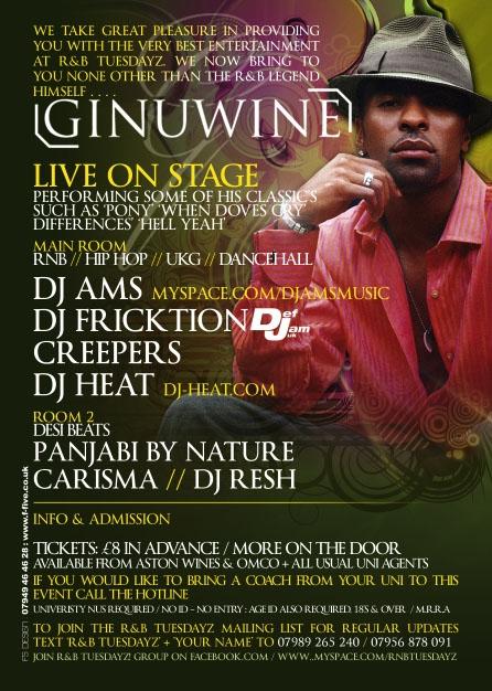 Ginuwine @ The Works Birmingham