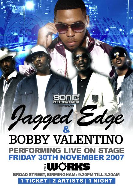 Jagged Edge & Bobby Valentino Live