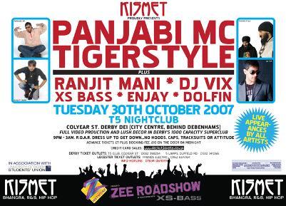 Kismet Present Panjabi MC, Tigerstyle,
