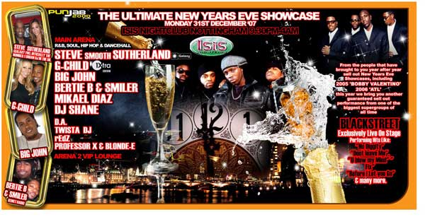 New Years Eve Showcase- Blackstreet Live on Stage