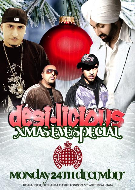 Desi-Licious Xmas Special