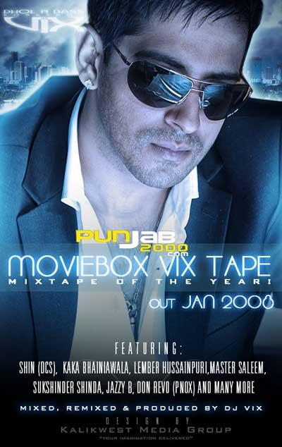 THE MOVIEBOX VIXTAPE - DJ Vix