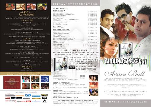 Asian Ball / Groundshaker 2 Album Launch Party