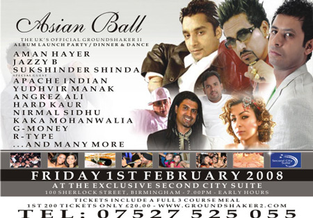 Asian Ball / Groundshaker 2 Album Launch Party