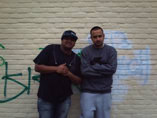 Kan-D-Man and DJ Limelight