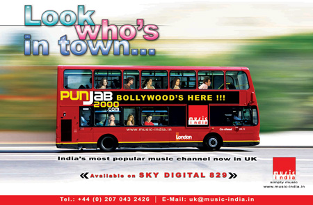 Music India touches down in the UK