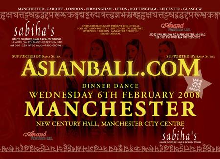 Manchester Asian Ball