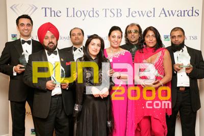 Group Shot Of Lloyds TSB Jewel Awards Winners