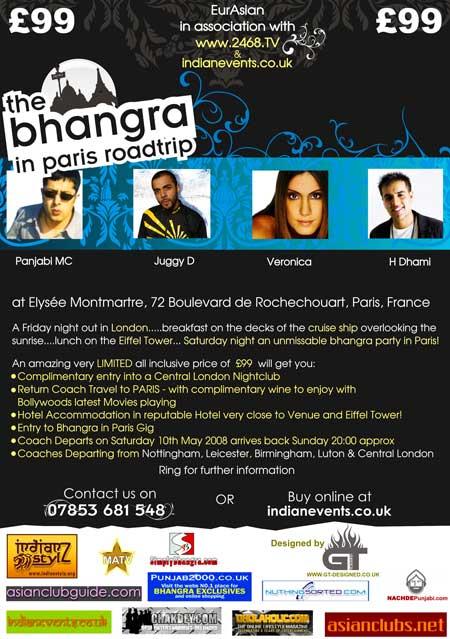 The Bhangra in Paris Roadtrip!
