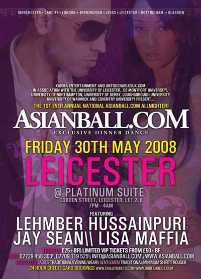 Asianball.com Present Leicester Asian Ball