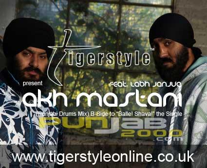 Akh Mastani (Punjabi Drums Mix) - Tigerstyle