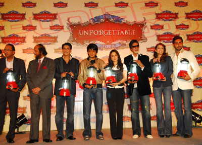 The brightest stars of Bollywood illuminate Press Conference for The Unforgettable Tour