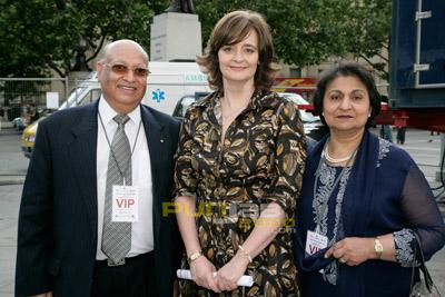 Mr Raj Loomba, Cherie Blair, Mrs Veena Loomba