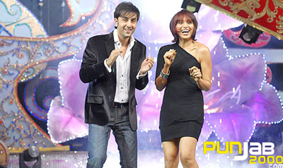 Ranbir and Bips on Aaja Mahi Vay