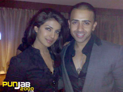Bollywood Stat Priyanka Chopra & Jay Sean