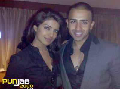 Bollywood Stat Priyanka Chopra & Jay Sean