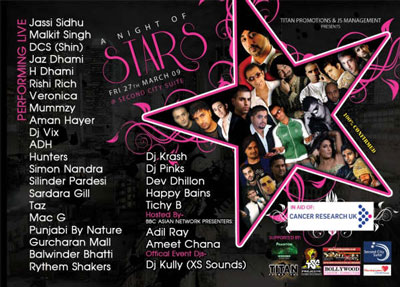 Titan promotions & JS Managment presents:The biggest ever Bhangra fundraiser!
