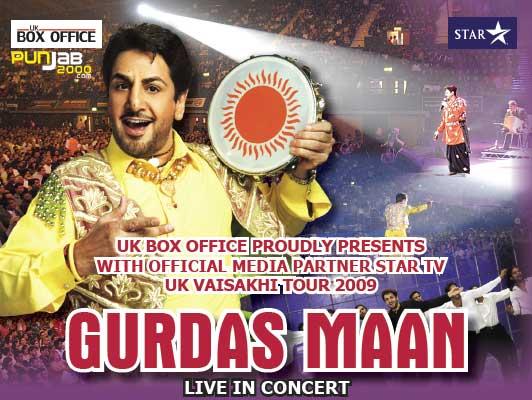 Gurdas Maan 2009 UK Tour