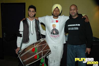 Des C interview with Baja @ Kaka Bhaniawala Fundraiser 15 5 09