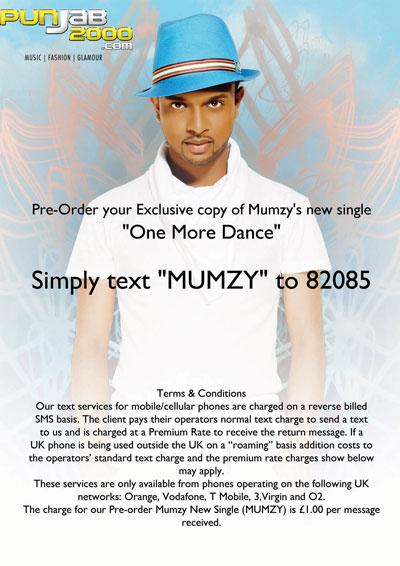 One More Dance - Mumzy Stranger