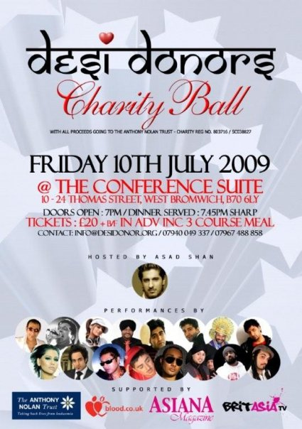 Desi Donors Charity Ball - The Official Launch
