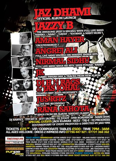 JAZ DHAMI - The Official Album Launch Party