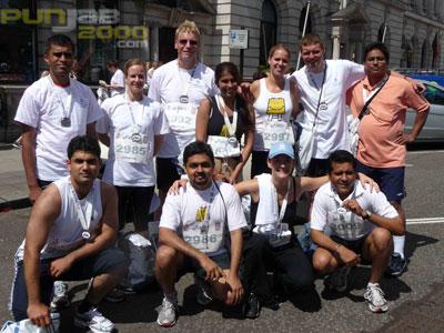 PRATHAM UK RAISES £13,500 FROM BRITISH 10KM LONDON RUN TO BRING LITERACY TO CHILDREN IN INDIA