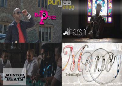 Video Trailer: DJ Pinkz & Mentor feat. Harsh - MONEY