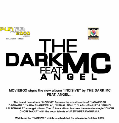 Moviebox Sign the Incisive album by The Dark MC ft Angel