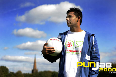 JAZ DHAMI BACKS CHELSEA FOOTBALL CLUBS SEARCH FOR AN ASIAN SOCCER STAR 2010