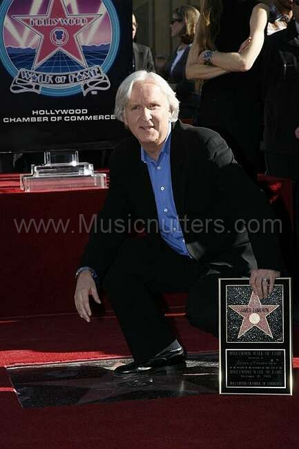 JAMES CAMERON HOLLYWOOD WALK OF FAME